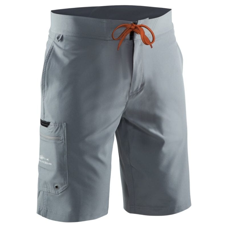 GRUNDENS FISHHEAD BOARD SHORT GREY