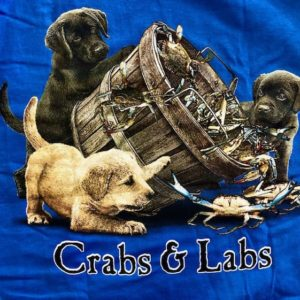 Crabs and Labs T-Shirt