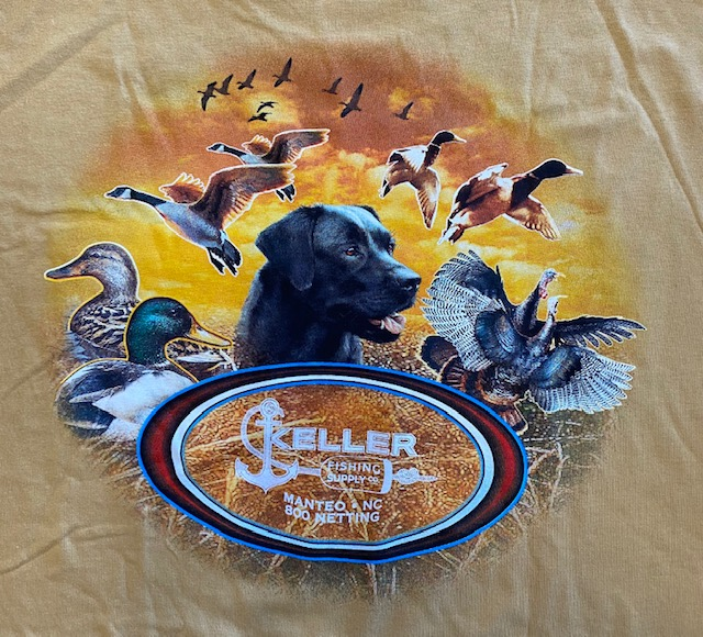 duck hunting long sleeve tshirt keller fishing supply manteo nc