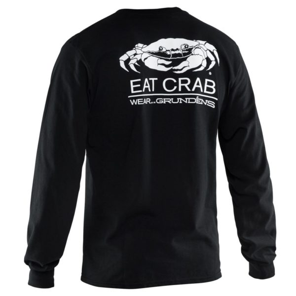Eat Crab Long Sleeve Tshirt Grundens