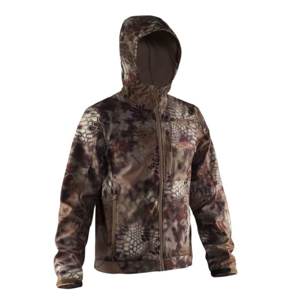 Grundens Midway Soft-Shell Jacket in Camo