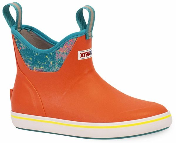 Women's Xtratuf Ankle Boots in Coral Coho