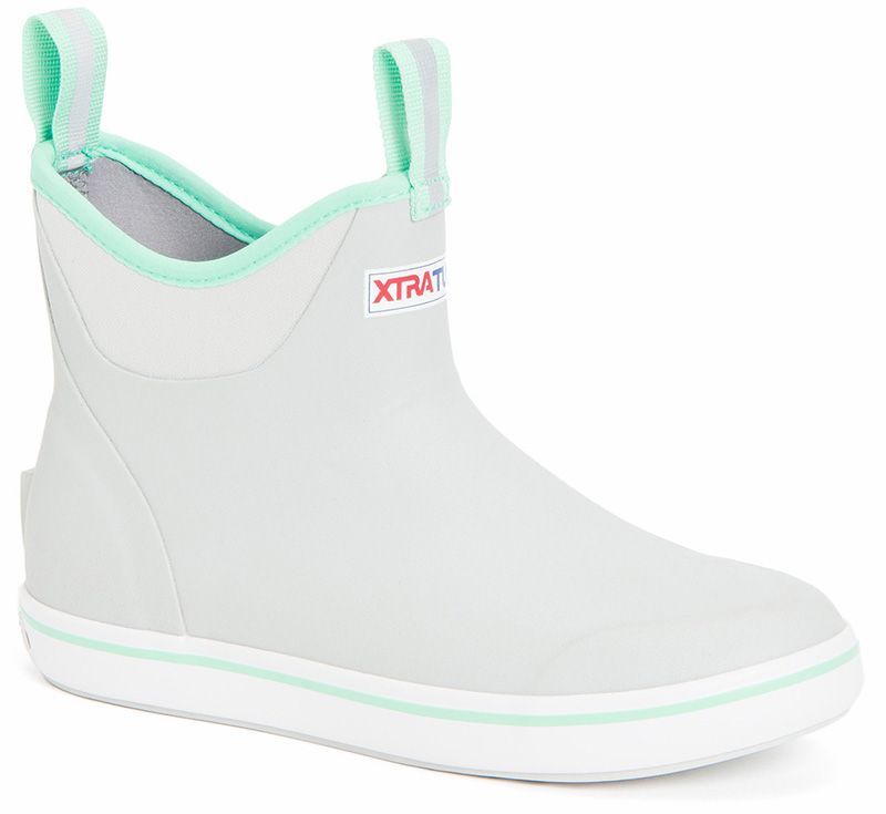 Women's Xtratuf Ankle Boots in Light Gray