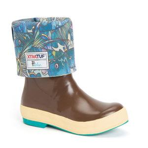 Womens Xtratuf Legacy Boots Brown with Tarpon